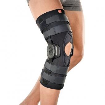 Ортез для колена из ткани AirX с полицентрическими шарнирами стержнями с контролем GENUFIT 30/30A F-E M.G1130A