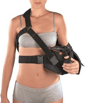 Ортез плечевой Extra-S 15° для иммобилизации плеча с отведением руки на 15 градусов предусмотрена демпфирующая подушка